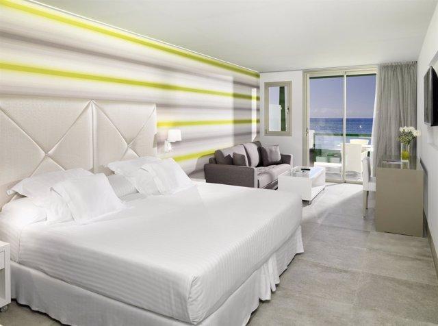 Habitación de la marca hotelera Barceló