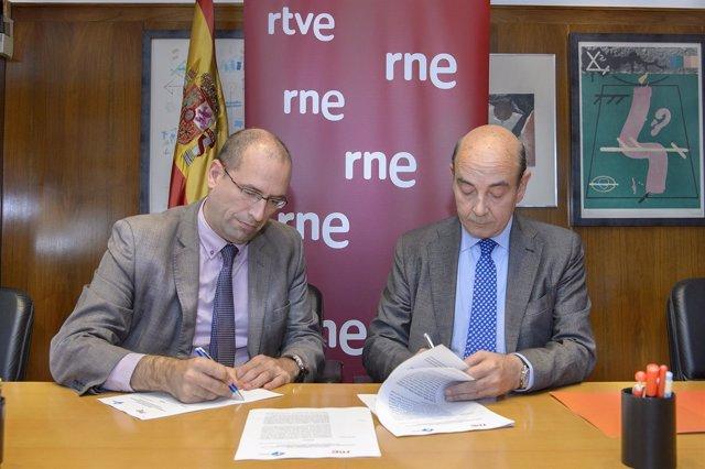Alfonso Nasarre y Javier Llamazares