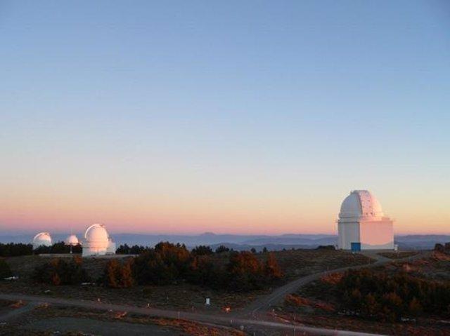 Observatorio astronómico hispano-alemán (CAHA) de Calar Alto