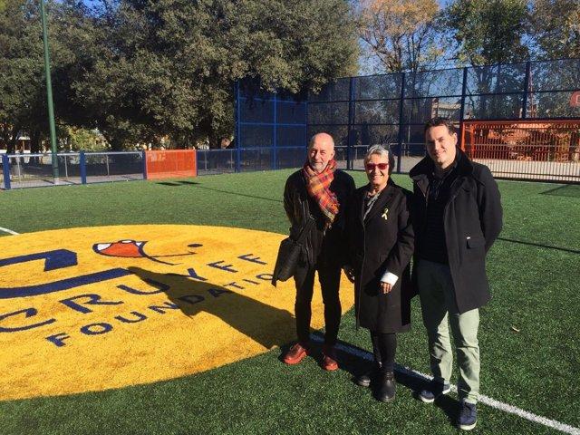 Cort visita la Fundación Cruyff