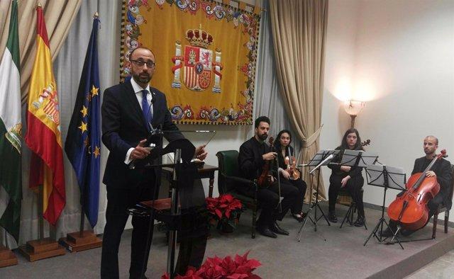 El subdelegado del Gobierno en Barcelona, Ablanedo