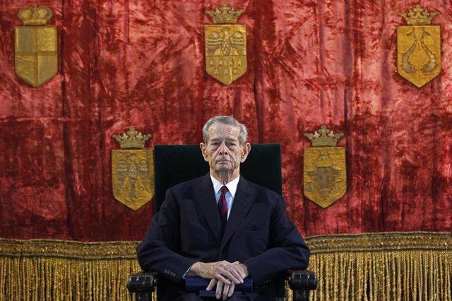 Miguel I, antiguo rey de Rumanía