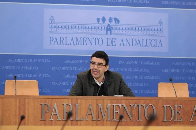 El portavoz del Grupo Socialista, Mario Jiménez