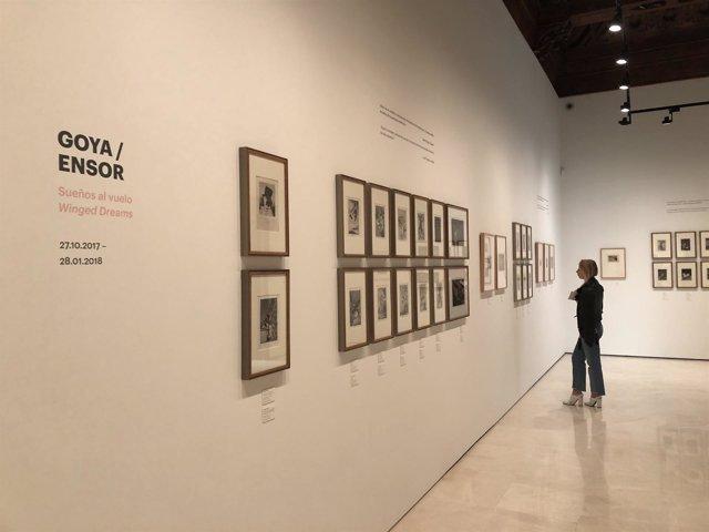 Exposición Goya-Ensor. Sueños al Vuelo