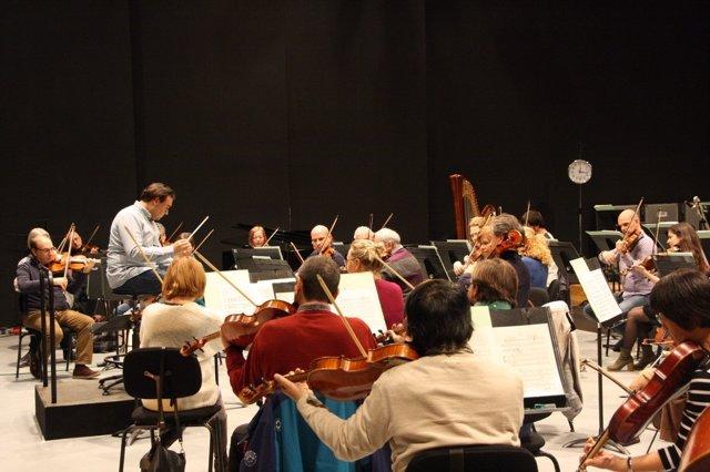 La orquesta sinfónica de Baleares prepara su quinto concierto de temporada