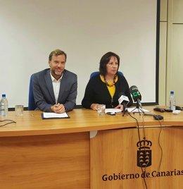 Soledad Monzón y Ciro Gutiérrez
