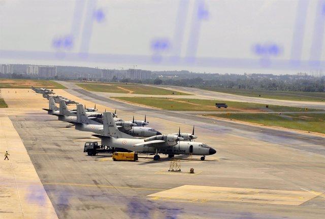 Antonov An-32, avión militar de India