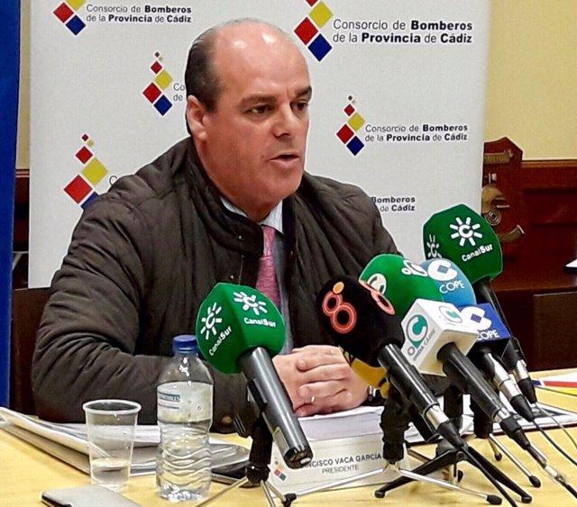 El presidente del CPBC, Francisco Vaca
