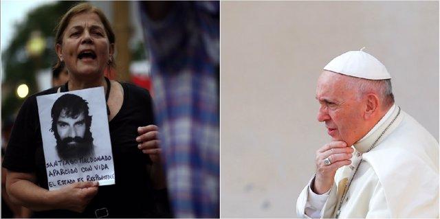 El papa Francisco recibirá a la familia de Santiago Maldonado