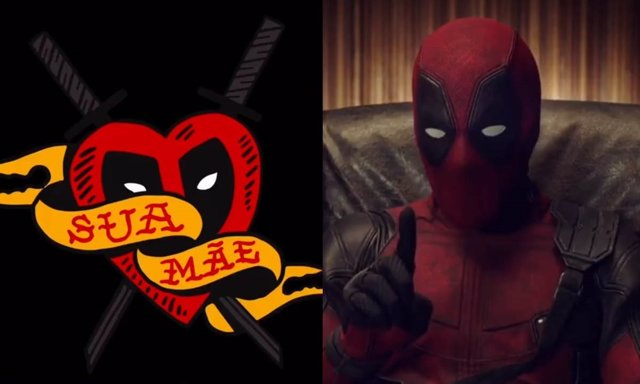 Deadpool regala tatuajes en la Comic Con de Brasil