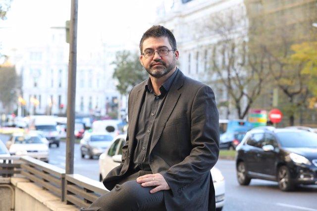 Carlos Sánchez Mato, delegado de Economía en el Ayuntamiento de Madrid