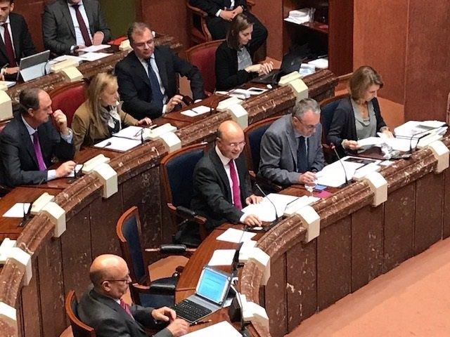 Andrés Carrillo presenta Presupuesto 2018 de su consejería