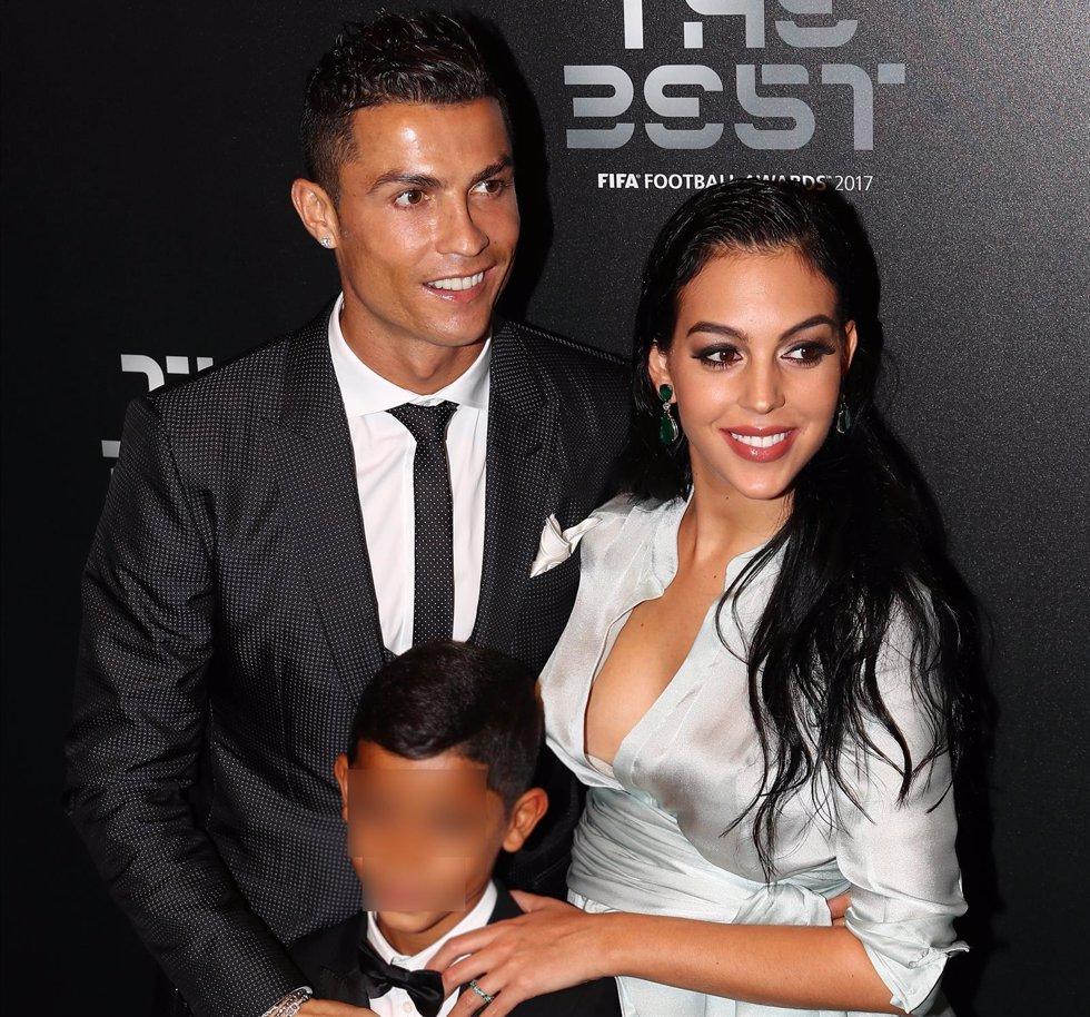 CR7, Georgina Rodríguez y Cristiano Ronaldo Junior