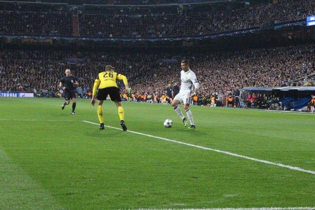 Cristiano Ronaldo en el Real Madrid - Borussia Dortmund