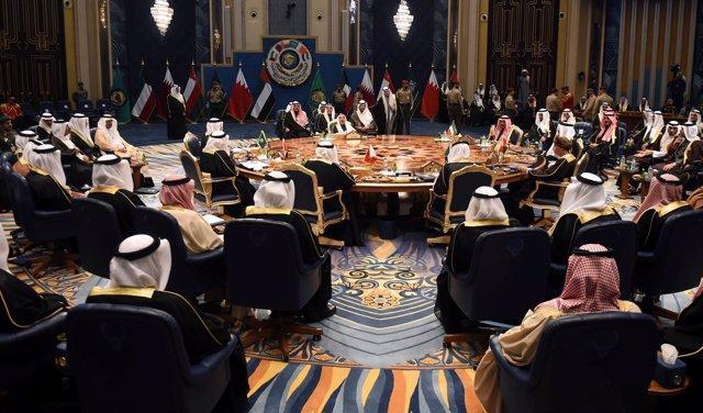 Cumbre del Consejo de Cooperación del Golfo en Kuwait