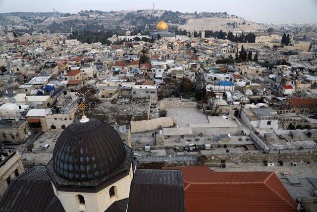 Vista general de Jerusalén