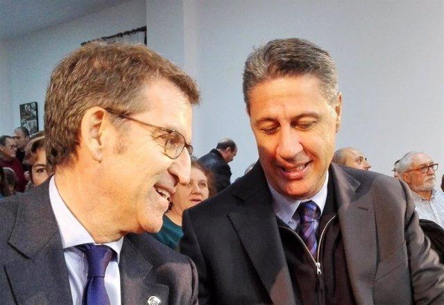 Pte. Alberto Núñez Feijóo, Xavier García Albiol, PP