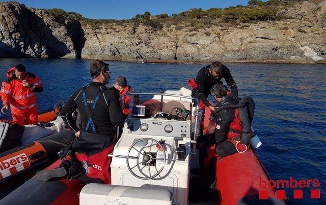 Buscan a un submarinista desaparecido en Roses