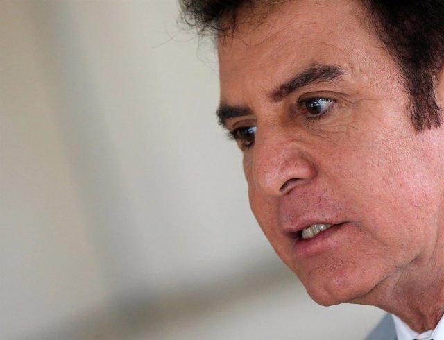 El candidato de la oposición de Honduras, Salvador Nasralla