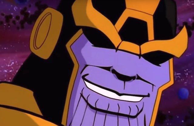 Thanos en la versión noventera del tráiler de 'Vengadores: Infinity War'