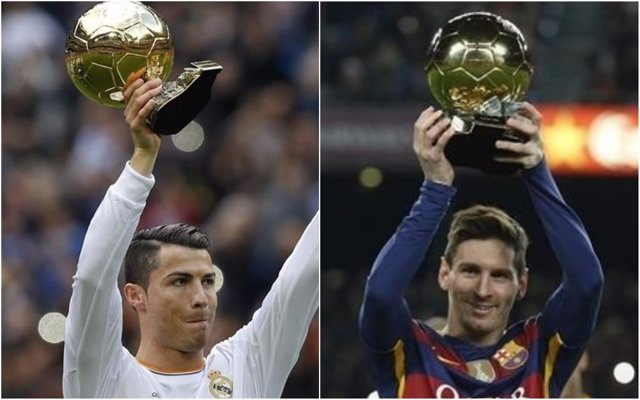 Cristiano Ronaldo y Messi, aspirantes la Balón de Oro