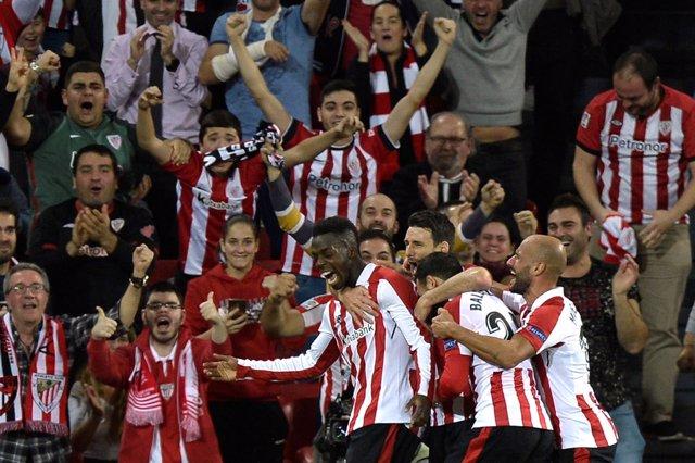 El Athletic Club vence al Hertha con gol de Iñaki Williams