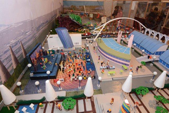Exposición Playmobil conmemora la Expo 92