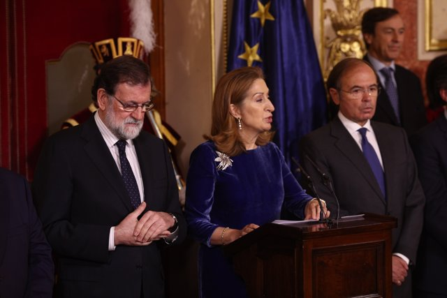 Ana Pastor, en el discurs del Dia de la Constitució