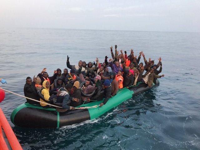 Embarcación rescatada