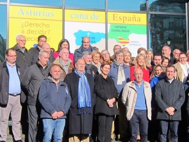 Acto de Foro Asturias en favor de la Constitución Española