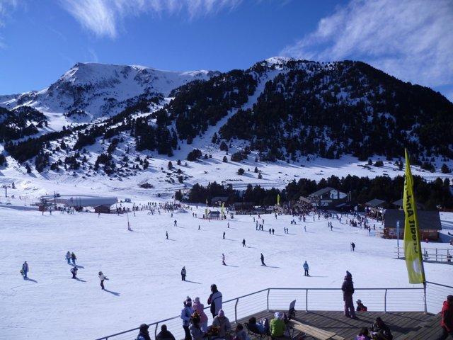Pista d'esquí