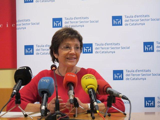 La presidenta de la Taula del Tercer Sector, Francina Alsina