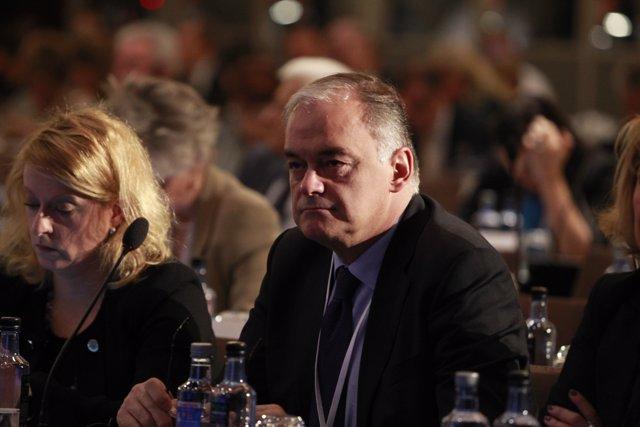 Esteban González Pons en la Convenció del Partit Popular Europeu