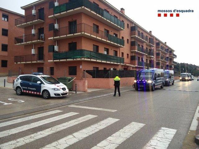 Mossos d'Esquadra operació tràfic drogues La Jonquera