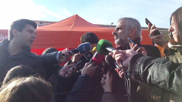 Carlos Carrizosa (Cs) a Sant Boi de Llobregat (Barcelona)
