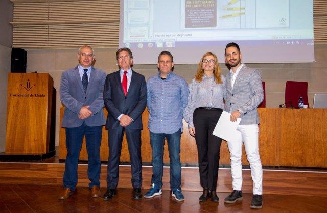 Entrega dels premis de la Fundació Asisa-UdL
