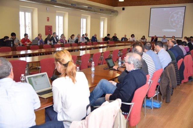 Imagen de un Consejo de Gobierno en la UPCT