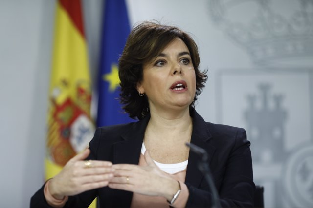 Roda de premsa de Santamaría després del Consell de Ministres