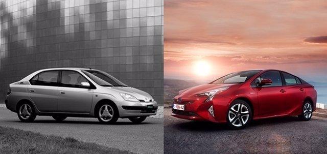 Imagen del Toyota Prius que cumple 20 años.