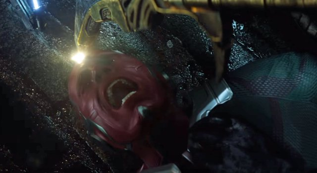 Vison en el tráiler de Vengadores: Infinity War