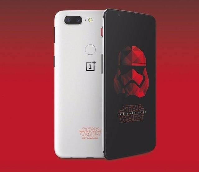 OnePlus 5T edición especial Star Wars