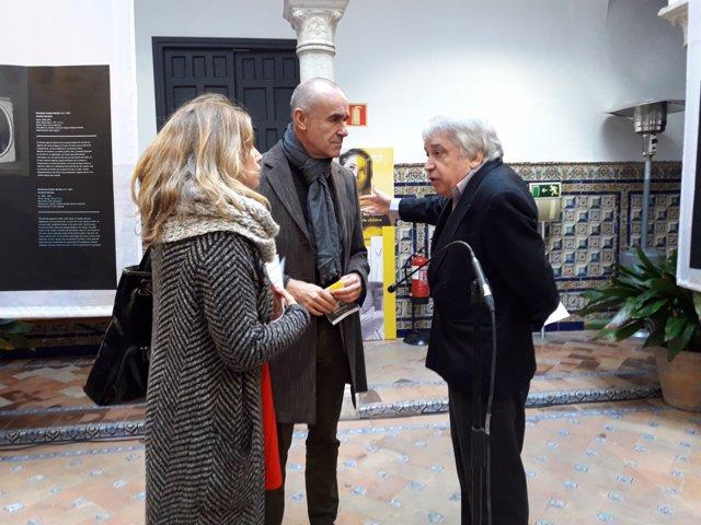 Antonio Múñoz y Enrique Valdivieso en Casa Murillo