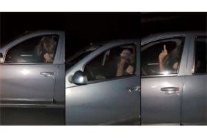 Tiene sexo en el coche mientras conduce a 100 kilómetros por hora en una carretera argentina y el vídeo se viraliza