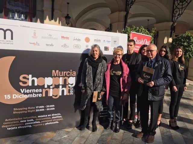 Presentación de la 7ª Murcia Shopping Night
