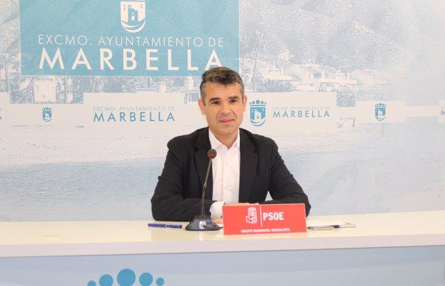 El concejal del PSOE de Marbella José Bernal