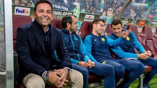 El técnico del Villarreal CF, Javi Calleja