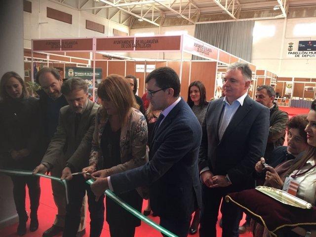 Inauguración de feria agroganadera de Villanueva de los Castillejos (Huelva)