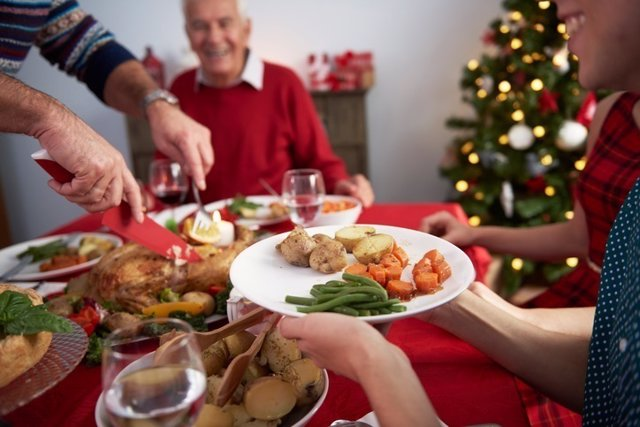 Navidad cena