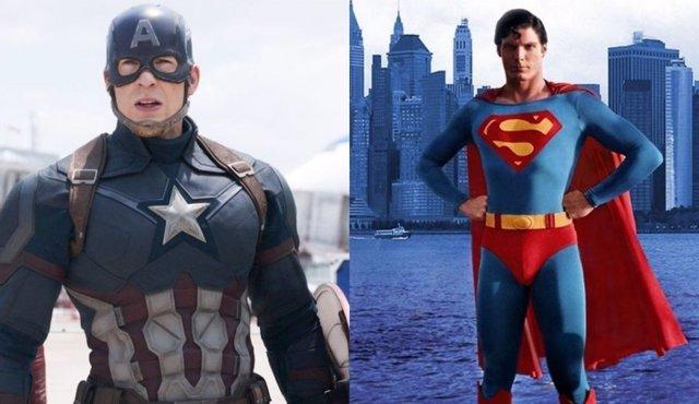 SUPERMAN/CAPITÁN AMÉRICA