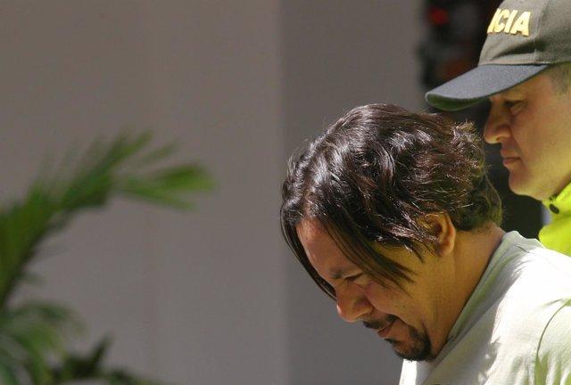 Juan Carlos Mesa Vallejo, narco detenido por Colombia
